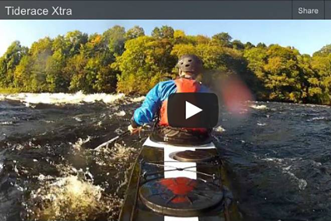 The Xtra in moving water